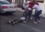fight outside a nightclub
